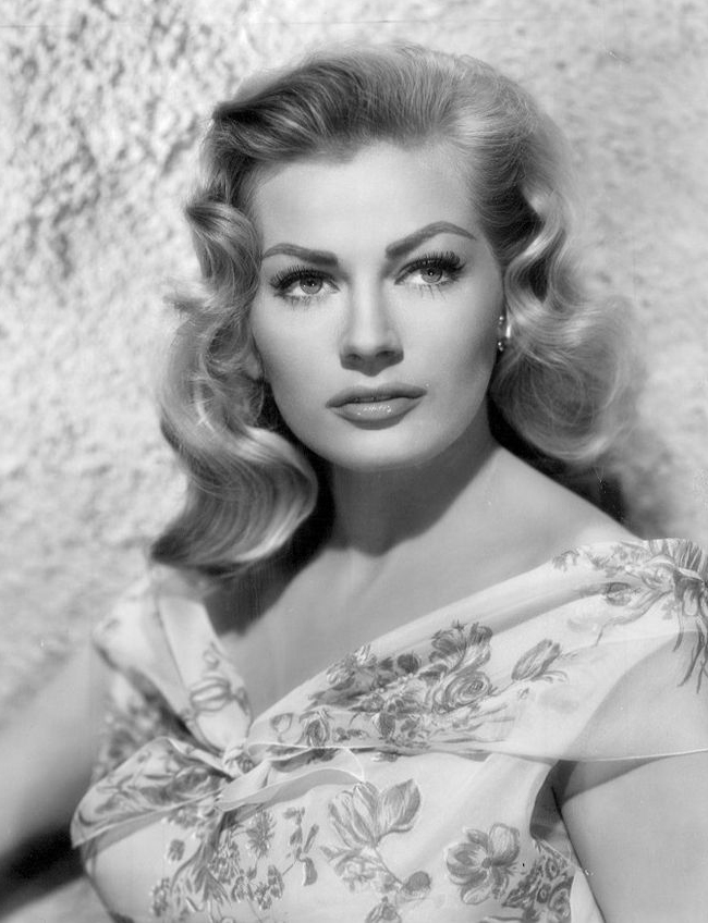 anita ekberg, swedish actress, 1950s sex symbol, miss sweden, model, 1950s movies, 1960s movies, pin up girl, anita ekberg 1956 poster