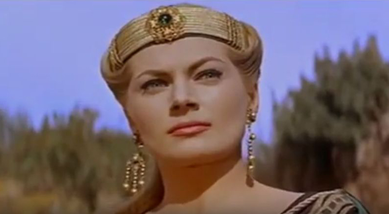anita ekberg, swedish actress, 1950s sex symbol, miss sweden, model, 1950s movies, sheba and the gladiator, pin up girl, anita ekberg 1959