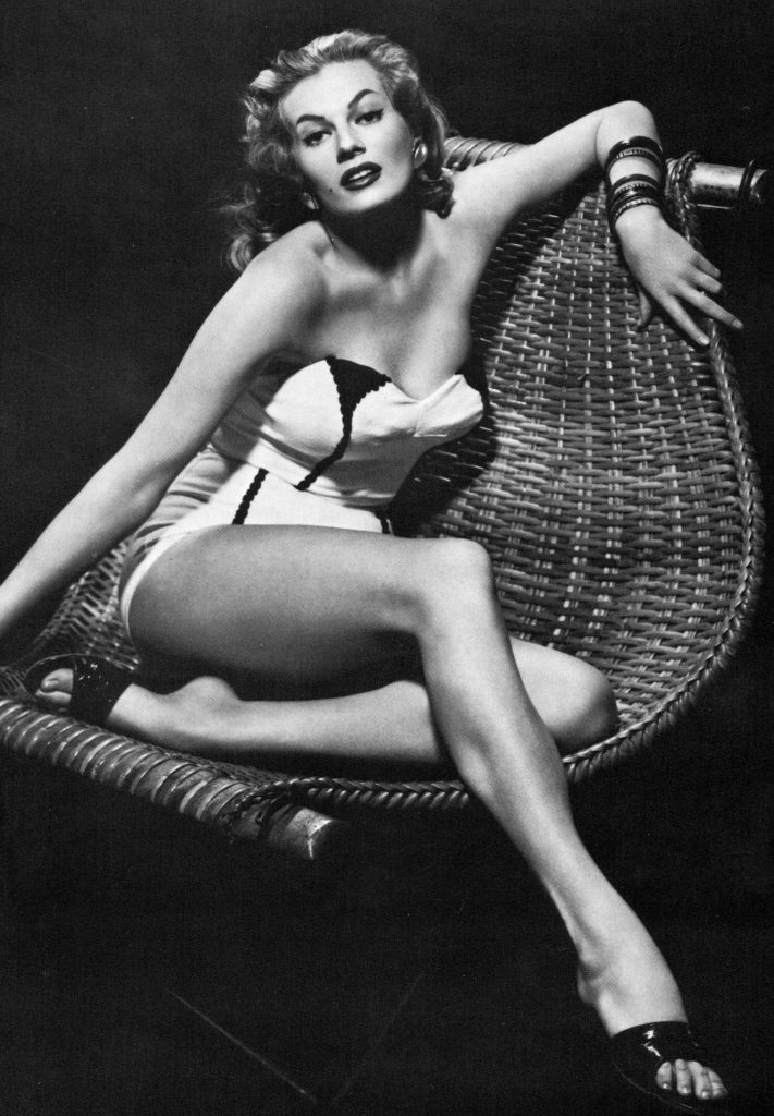 anita ekberg, swedish actress, 1950s sex symbol, miss sweden, model, 1950s movies, 1960s movies, pin up girl, anita ekberg 1950s