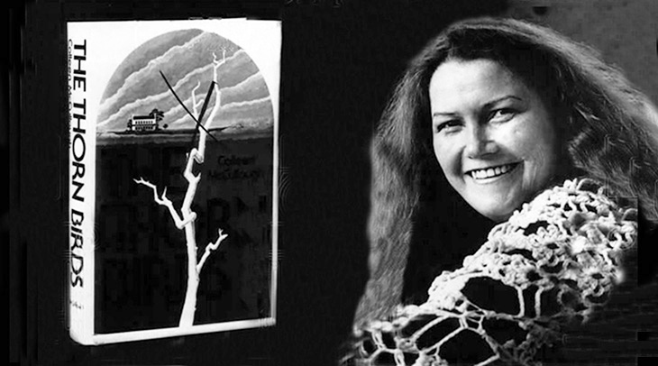 colleen mccullough 1977, colleen mccullough younger, australian writer, best selling novelist, historical fiction author, the thorn birds