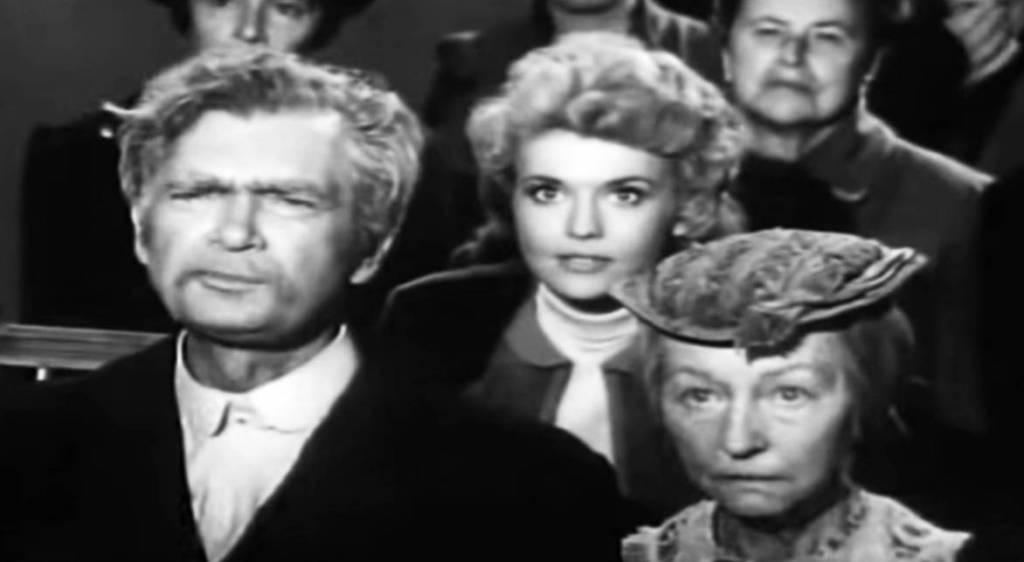 donna douglas 1963, irene ryan, american actresses, buddy ebsen, 1960s television series, 1960s tv sitcoms, the beverly hillbillies, jed rescues pearl episode