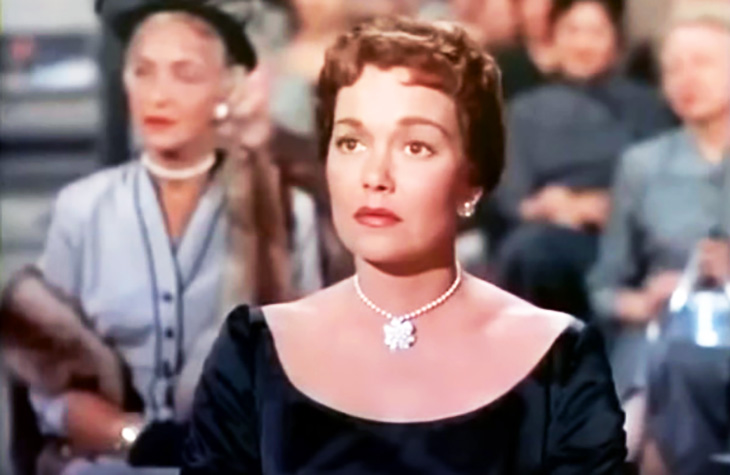 jane wyman 1955, american actress, nee sarah jane mayfield, 1950s movies, charleton heston films, lucy gallant movie