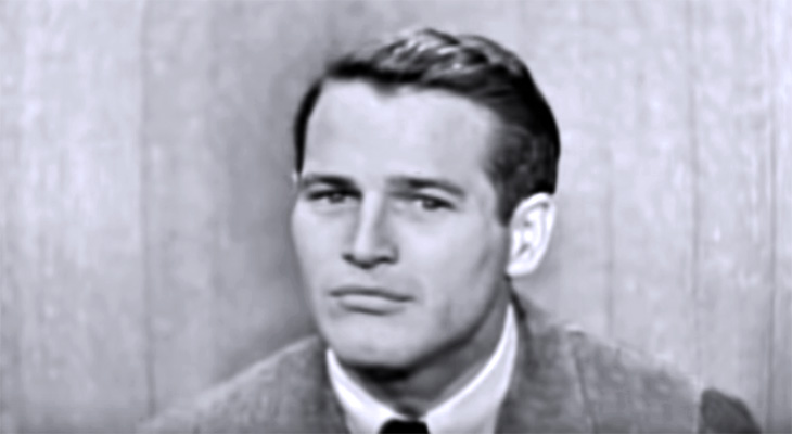 paul newman 1959, american actor, 1950s films star, 1960s movies, whats my line, 1950s tv shows
