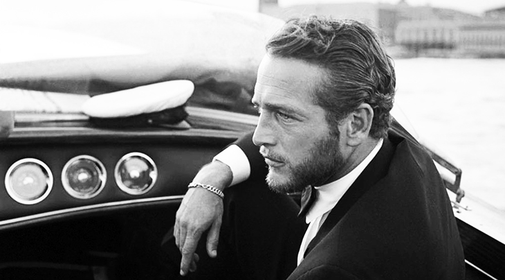paul newman 1963, american actor, paul newman in venice