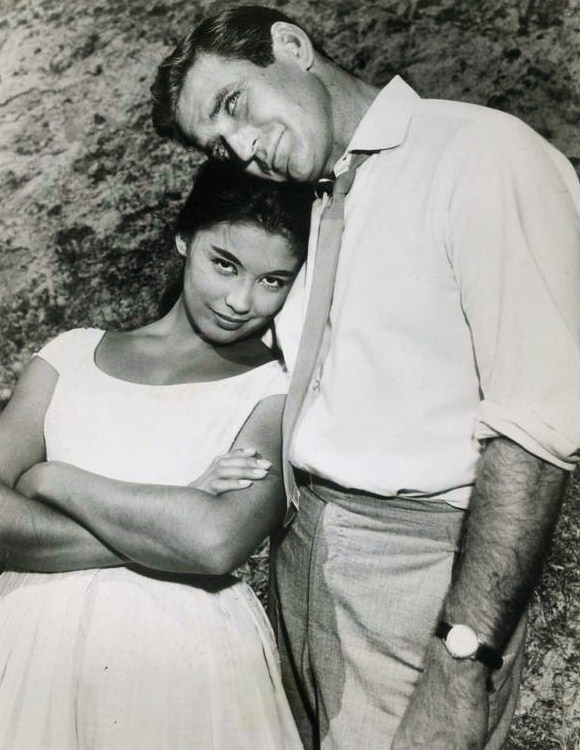 rod taylor 1960, american actor, france nuyen, 1960s television series, hong kong tv show