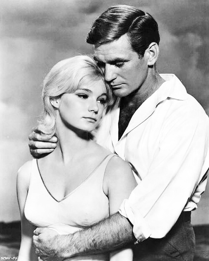 rod taylor 1960, american actor, yvette mimieux, 1960s movies, the time machine, rod taylor younger