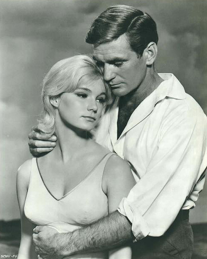 rod taylor 1960, american actor, yvette mimieux, 1960s movies, the time machine, younger