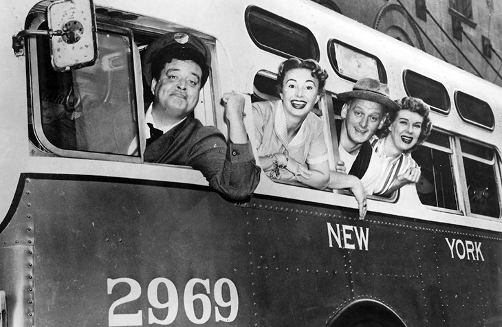 the honeymooners 1955 cast, 1950s tv sitcoms, jackie gleason, audrey meadows, art carney, joyce randolph, 1950s television shows