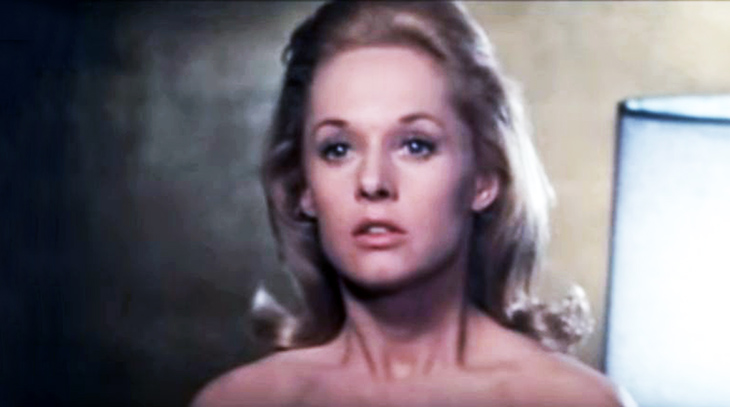 tippi hedren 1964, american actress, 1960s movies, alfred hitchcock films, marnie stars, rod taylor costar