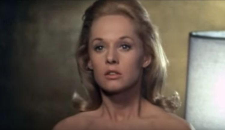 tippi hedren 1964, american actress, 1960s movies, alfred hitchcock films, the birds, marnie, rod taylor costar, sean connery costar, senior, exotic pets, lions, mother of melanie griffith