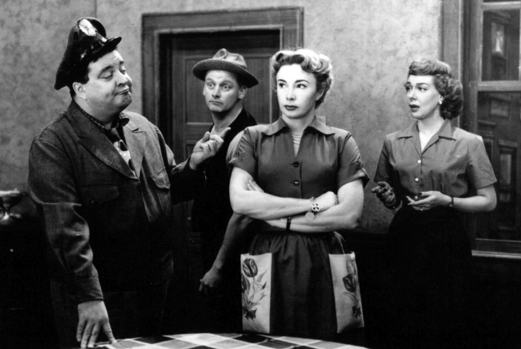 audrey meadows, jackie gleason, art carney, joyce randolph, ralph kramden, alice kramden, ed norton, trixie norton, the honeymooners