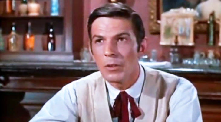 leonard nimoy younger, american actor, 1960s television series, bonanza guest stars