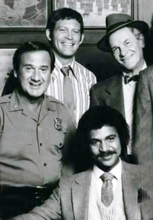ron cary, max gail, james gregory, ron glass, 1980s tv shows, tv sitcoms, barney miller cast