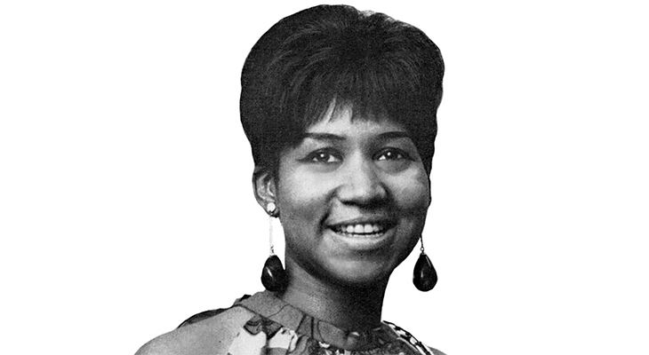 aretha franklin 19697, african american soul singer, rock and roll hall of fame, grammy awards, i say a little prayer for you, respect, i knew you were waiting for me,  you make me feel like a natural woman, aretha franklin younger