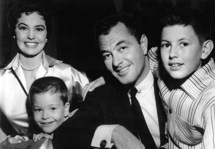 cyd charisse 1956, husband tony martin, son tony martin jr, son nicky charisse, cyd charisse family 1956, tony martin children