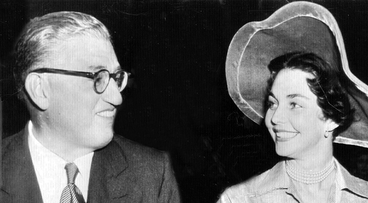 david o selznick, jennifer jones, married 1949, celebrity couples, american actress, film producer, classic movies,