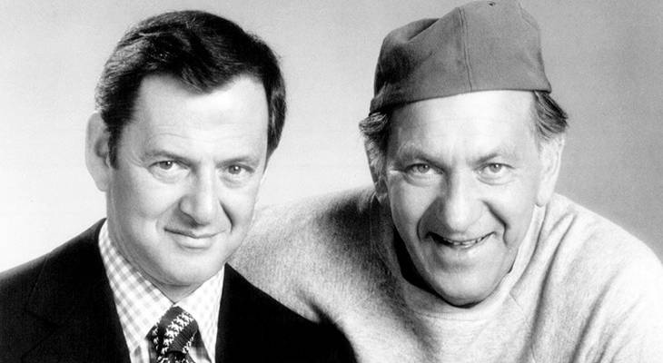 tony randall 1974, jack klugman 1974, the odd couple 1974, oscar madison character, felix unger character, 1970s tv shows, 1970s television sitcoms, american actors, american comedic actors