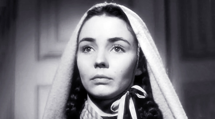 jennifer jones 1943, american actress, 1943 academy awards, best actress oscar, 1940s movie star, 1940s films, the song of bernadette, classic movies,