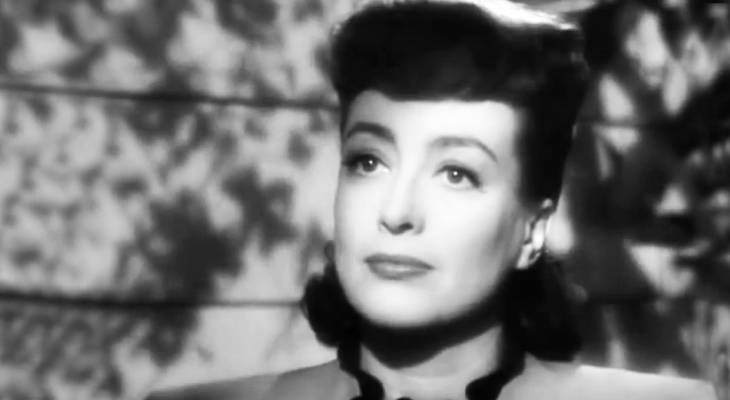 joan crawford 1945, 1940s movie stars, 1940s movies, mildred pierce, best actress oscar, academy awards, american actress,