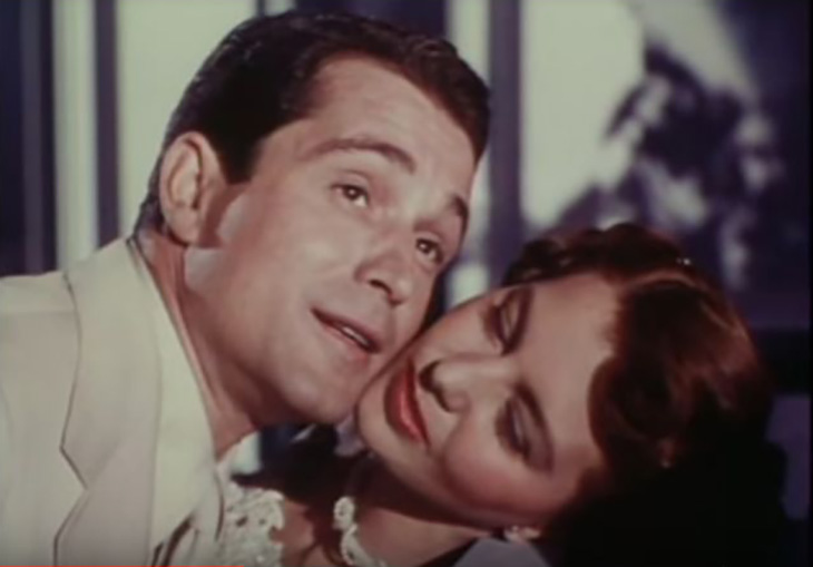 cyd charisse 1948, perry como, 1940s movie musicals, words and music