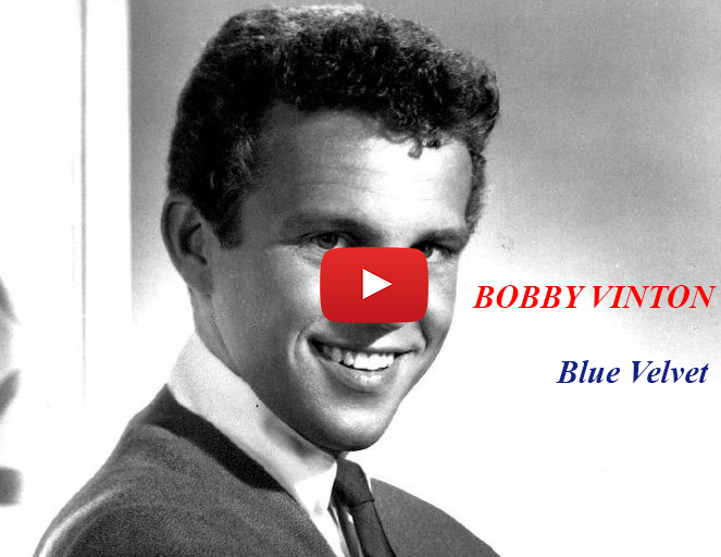 bobby vinton 1964, blue velvet music video