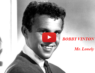 bobby vinton 1964, mr lonely, youtube music video