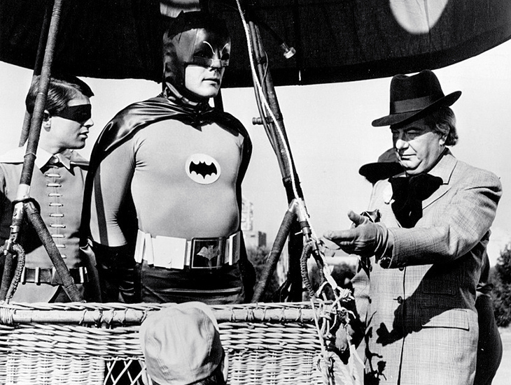 burt ward, adam west, american actors, 1960s, tv shows, television series, batman, robin, maurice evans, the puzzler, classic tv