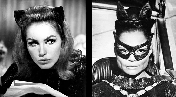 tv shows, batman, 1960s, american actors, catwoman, actresses, film stars, julie newmar, eartha kitt, 1967, 1966