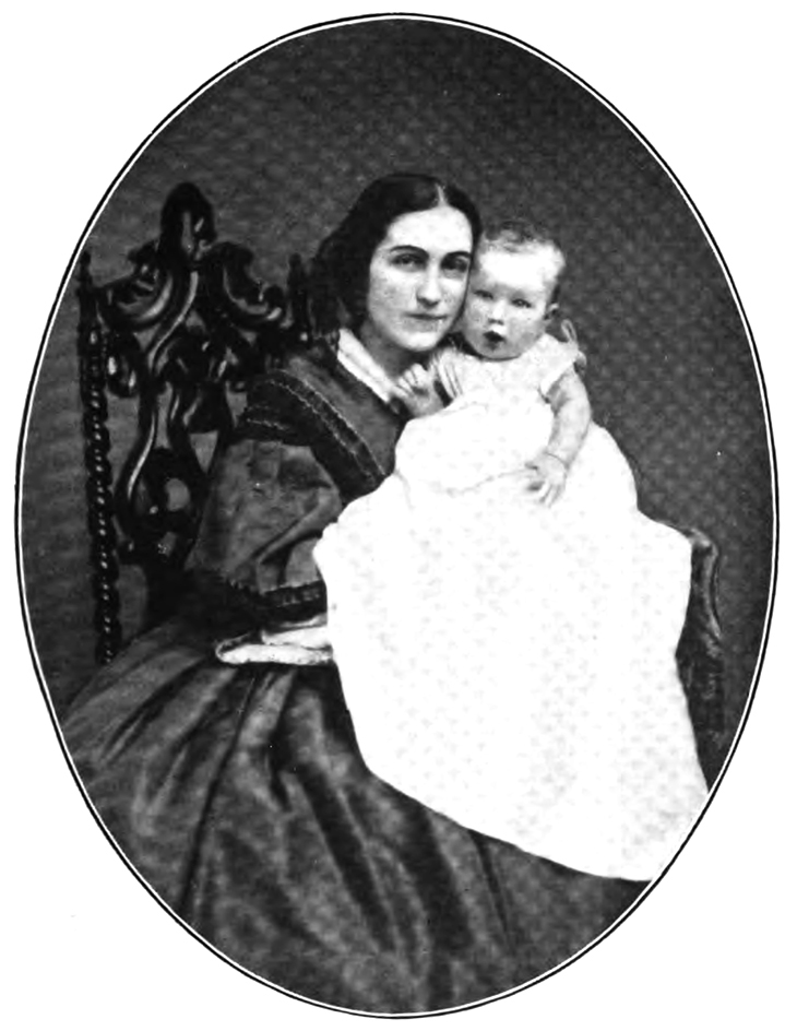 phoebe apperson hearst, mother w r hearst, william randolph hearst, 1863, mother, child, infant, baby boy