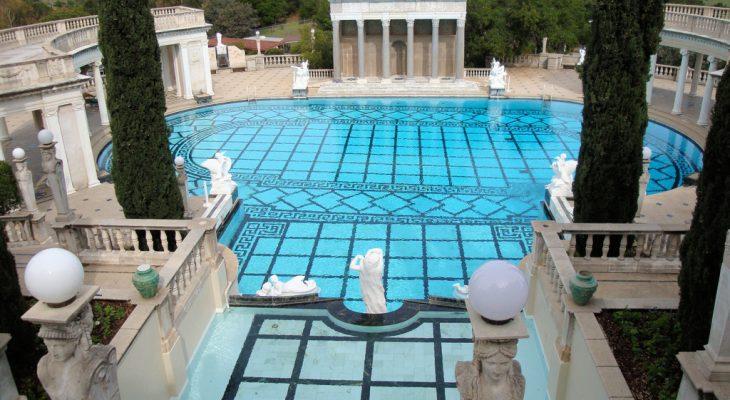william randolph hearst, hearst castle, neptune pool, 2009