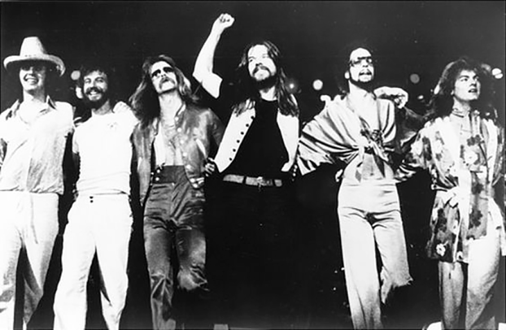 bob seger 1982, american rock singer, songwriter, the silver bullet band, 1970s rock bands, drew abbott, david teegarden, chris campbell, alto reed, robyn robbins