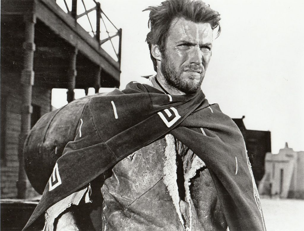 clint eastwood 1964, american actor, 1960s movies, 1960s western films, spaghetti westerns, sergio leone director, a fistful of dollars, black hat