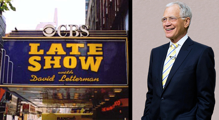 david letterman, american comedian, talk show host, late show with david letterman, late night series, late night with david letterman, ed sullivan theater, new york, celebrity interviews, retirement,