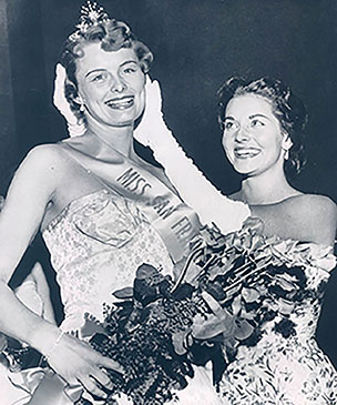 lee meriwether 1955, miss america 1955, nee lee ann meriwether, american actress, 1950s beauty pageants, 1955 miss san francisco, jeanne cassey