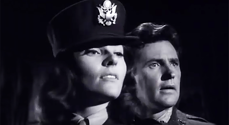 lee meriwether 1965, robert brown, american actress, actors, 1960s television series, 12 oclock high guest star, mutiny at ten thousand feet