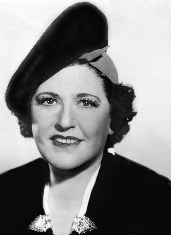 louella parsons 1937, american journalist, gossip columnist, movie news reporter, hearst newspapers columnist
