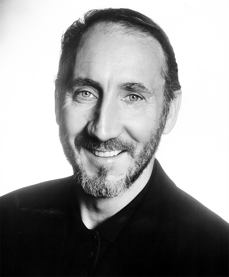 pete townshend 1989, british rock musician, rock and roll hall of fame, english rock bands, the who lead guitarist, songwriter, baba oriley, who are you,