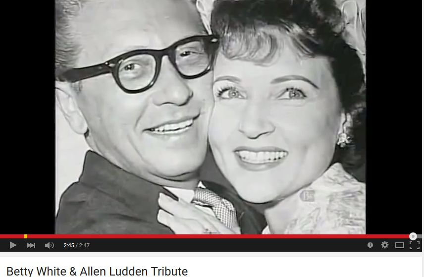 betty white, allen ludden, nonagenarian, senior citizens, baby boomer tv, senior years, 50+, long life