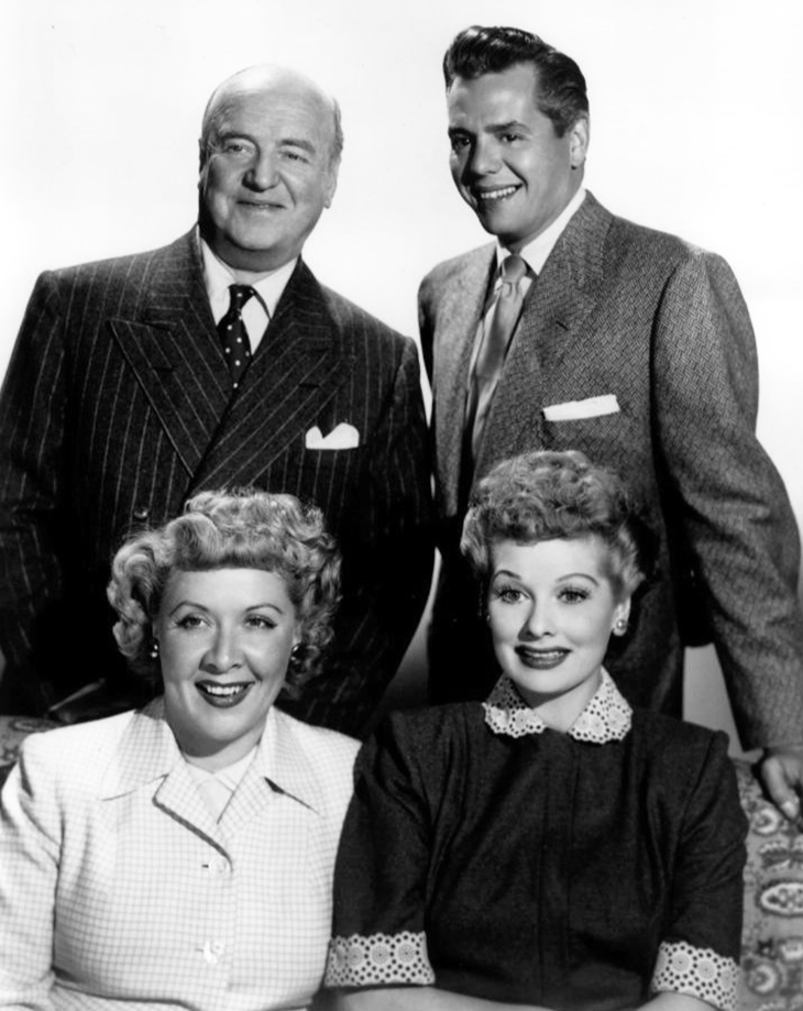 lucille ball, desi arnaz, william frawley, vivian vance, 1952, television series, tv shows, sitcoms, i love lucy cast, comedy, episodes, american actors, comedienne