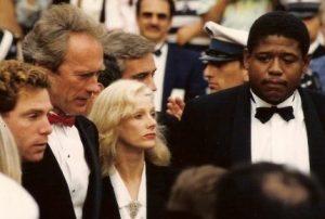 clint eastwood 1988, sondra locke, forest whitaker, michael zelnikeramerican actors, cannes film festival, movie bird,