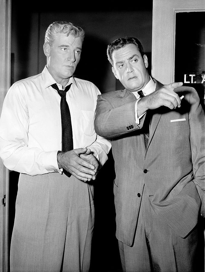perry mason 1959, raymond burr, william hopper