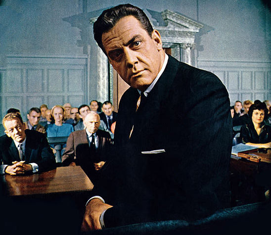 perry mason 1961 cast, 1950s tv shows, 1960s television series, raymond burr, della street, babrara hale, hamilton burger