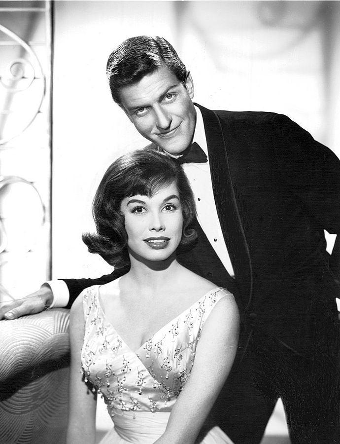 dick van dyke 1961, mary tyler moore, american actors, the dick van dyke show, 1960s television series, 1960s tv sitcoms