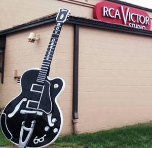 nashville, tennessee, music city usa, rca studio b, recording studios, landmarks, historic, tour, 2015, guitar