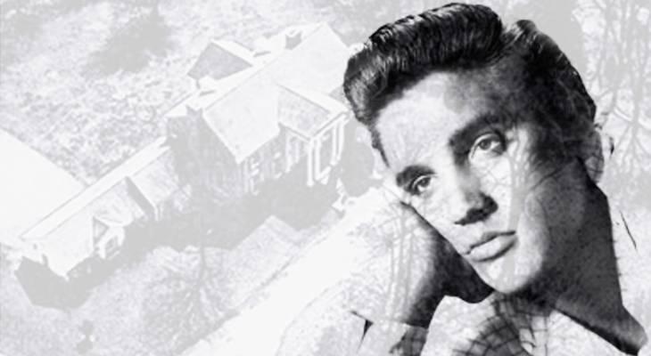 elvis presley, 1956, american singer, rock and roll, rock singer, graceland, memphis, tennessee, mansion, 1957