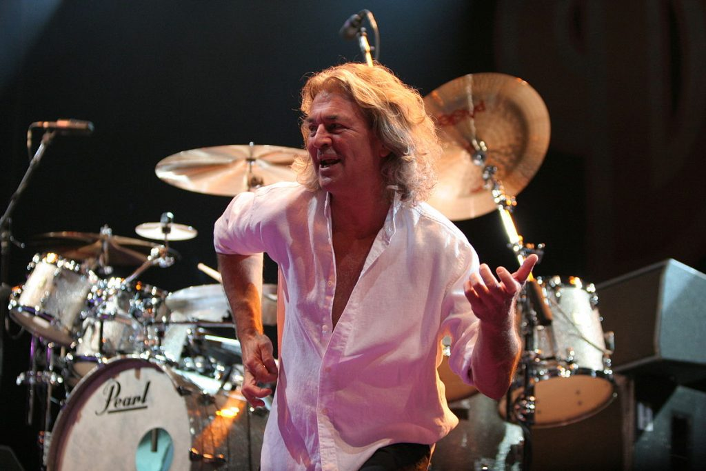 ian gillan 2005, deep purple lead singer, rock bands, rock music, senior citizen, older