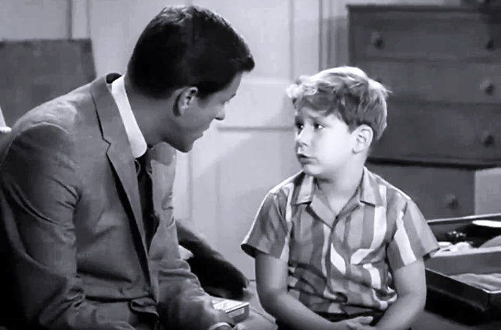 larry mazzeo 1962, larry matthews, 1960s child actor, 1960s tv sitcoms, the dick van dyke show, richie petrie