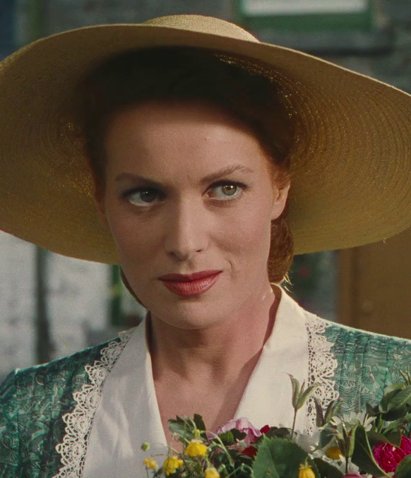 maureen ohara 1952, irish american actress, 1950s movies, the quiet man