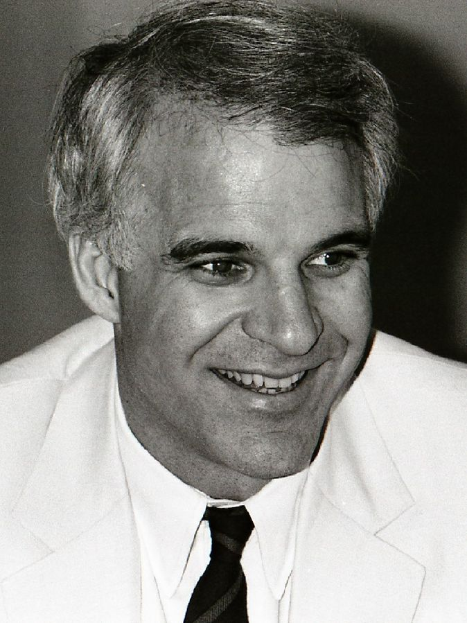 steve martin 1982, american comedian, comedy writer, 1980s movie actor