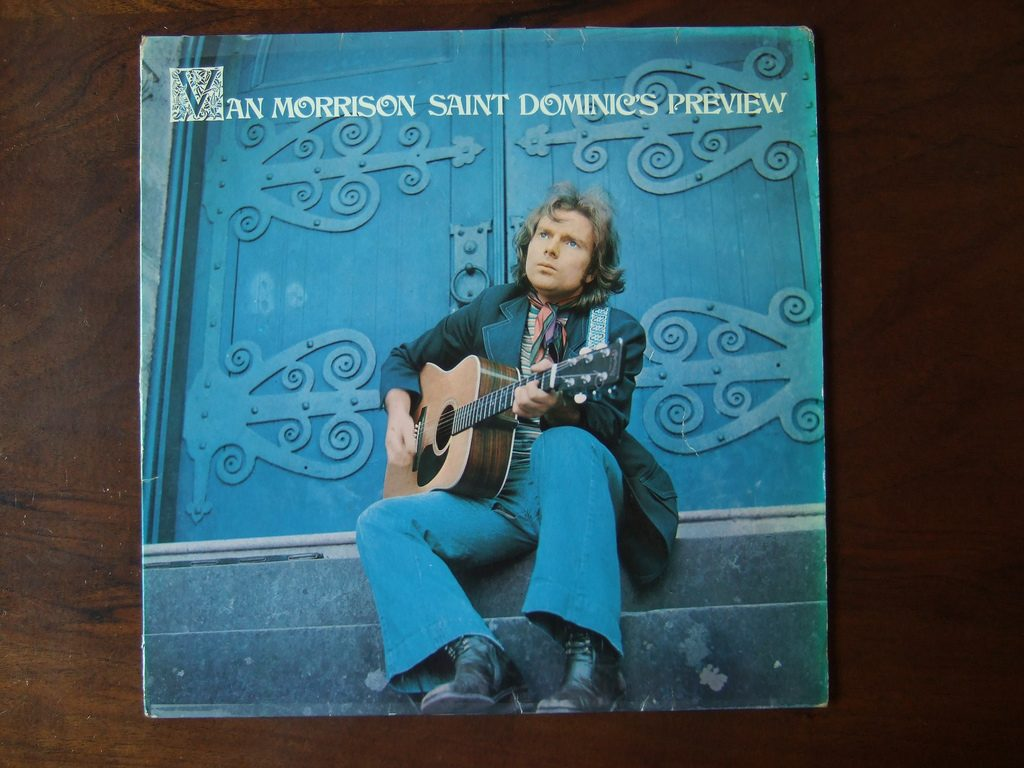van morrison 1972, irisn singer, songwriter, musician, 1970s rock music, 1970s hit singles